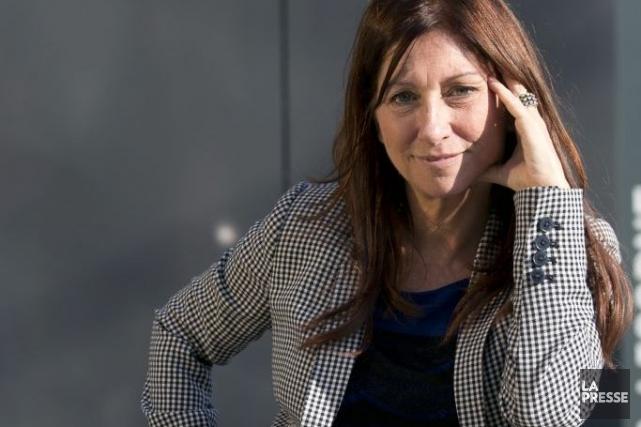 Julie Vincent multiplie depuis des années les allers-retours... (Photo: Hugo-Sébastien Aubert, La Presse)