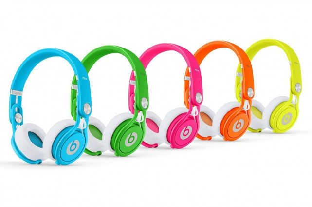Apple a annoncé en mai l'acquisition de Beats... (Photo Beats by Dre)