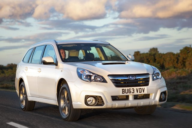 La Subaru Outback européenne 2014 «rafraîchie».... (Photo fournie par Subaru)