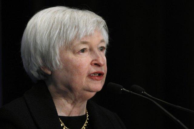 Janet Yellen, âgée de 67 ans, était vice-présidente... (Photo: Reuters)