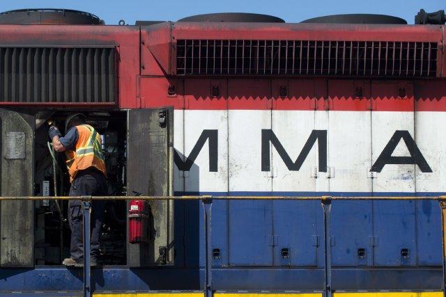 La Montreal, Maine and Atlantic Railways, le transporteur ferroviaire du Maine... (Photo Graham Hughes, archives La Presse Canadienne)