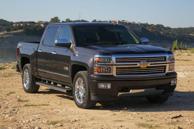 Le rappel touche les modèles Chevrolet Silverado (photo)... (Photo Éric Descarries, collaboration spéciale)