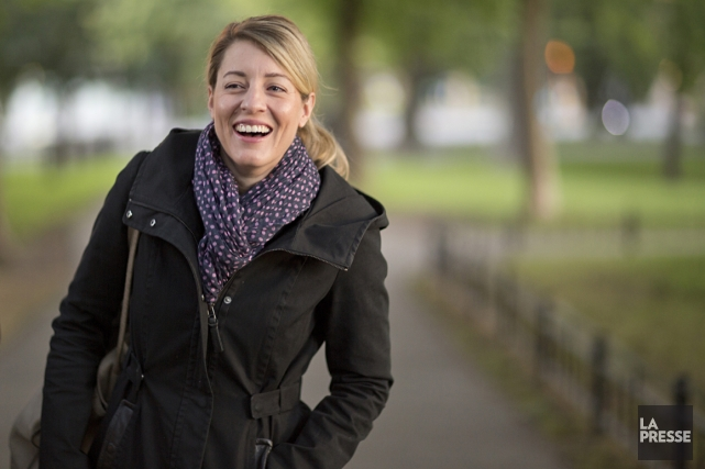 Mélanie Joly... (Photo David Boily, La presse)