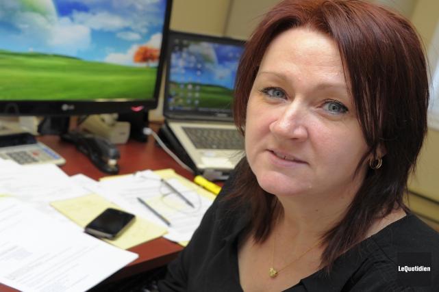 Annie Coulombe, conseillère en relations de travail et... ((Archives Le Quotidien))