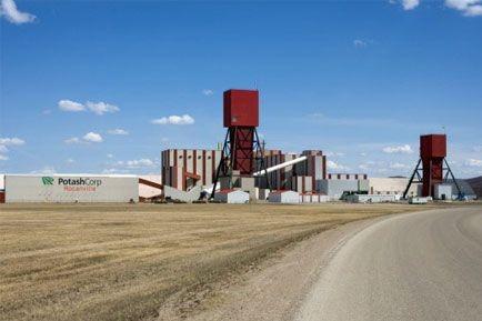 Le géant canadien Potash (T.POT) a affiché jeudi une... (PHOTO ARCHIVES LA PRESSE CANADIENNE)