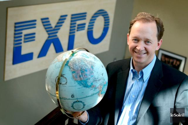 Germain Lamonde, fondateur et PDG d'Exfo.... (Photothèque Le Soleil, Jocelyn Bernier)