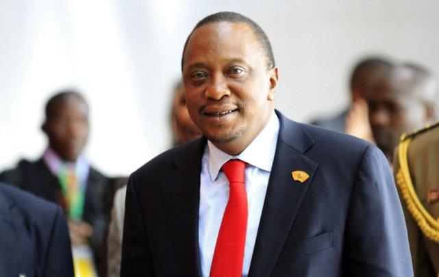 Uhuru Kenyatta... (Photo Tiksa Negeri, Reuters)