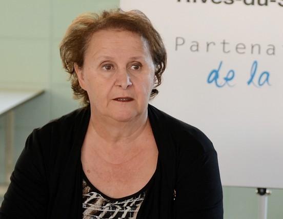 La présidente de la Commission scolaire des Rives... (Archives)