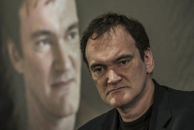 Quentin Tarantino en conférence de presse au 5e... (Photo: AFP)