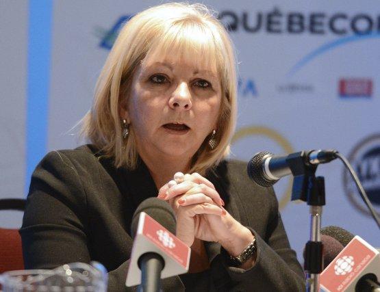Josée Bouchard, présidente de la Fédération des commissions... (Archives Le Quotidien)