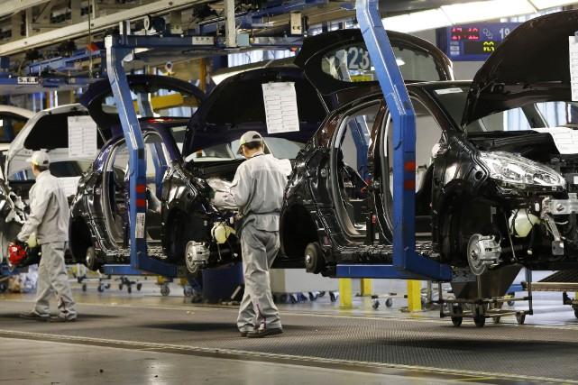 L'accroissement des ventes d'automobiles aux États-Unis soutient une... (PHOTO ARCHIVES REUTERS)