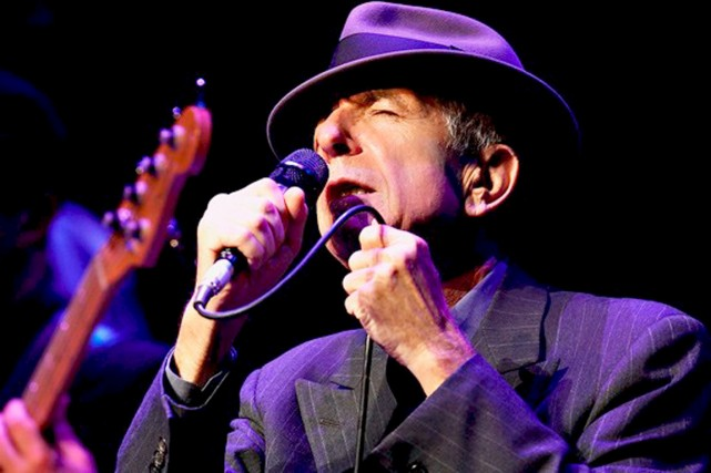 Leonard Cohen...