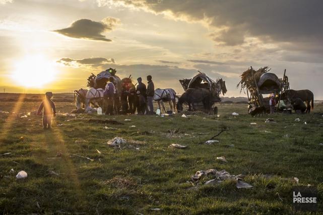 Alors que le continent commémore les dizaines de milliers de Tziganes tués... (PHOTO OLIVIER PONTBRIAND, archives LA PRESSE)
