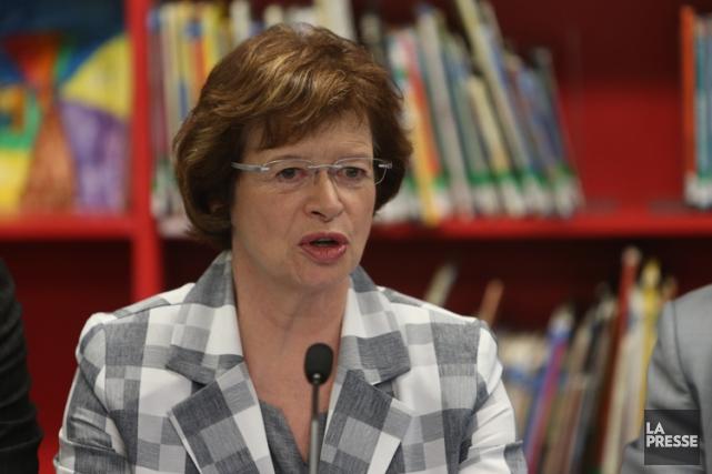 La ministre de l'Éducation, Marie Malavoy, se dit... (Photo: Martin Chamberland, La Presse)