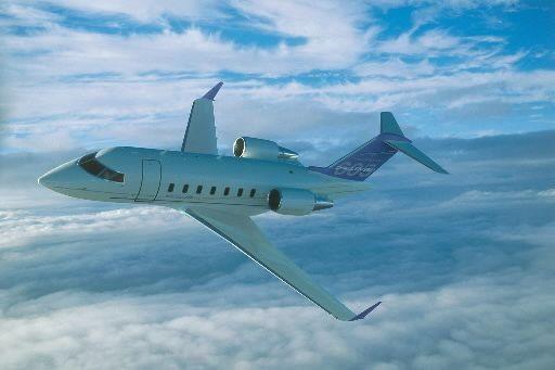 Boeing veut utiliser leChallenger605 pour en faire un... (PHOTO FOURNIE PAR BOMBARDIER)