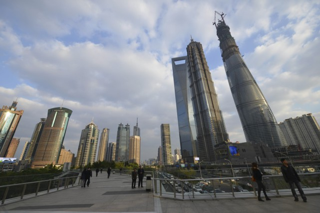 Les mauvais chiffres s'accumulent pour la Chine :... (Photo Peter Parks, AFP)