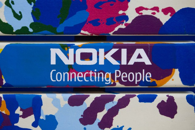 L'équipementier en télécoms finlandais Nokia, roi déchu du téléphone portable,... (PHOTO ARCHIVES BLOOMBERG)