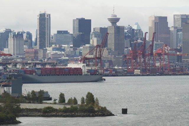 Le port de Vancouver.... (PHOTO BLOOMBERG)