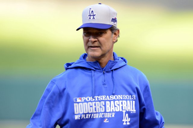 Le gérant des Dodgers de Los Angeles, Don... (Photo Jeff Curry, USA Today)