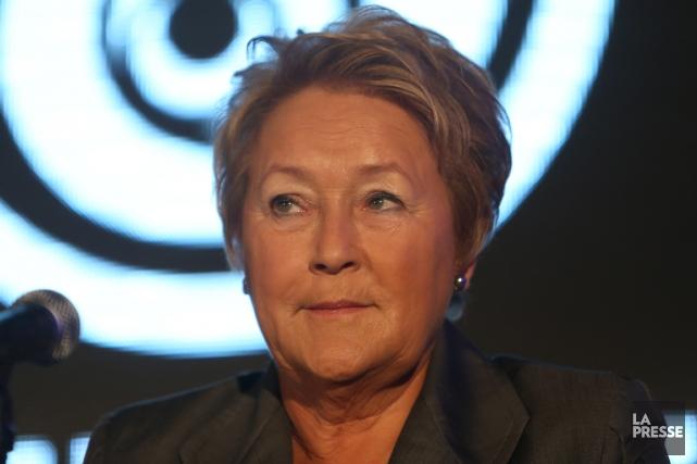 Pauline Marois... (Photo Martin Chamberland, La Presse)