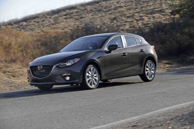 La nouvelle Mazda3 2014.... (Photo fournie par Mazda)