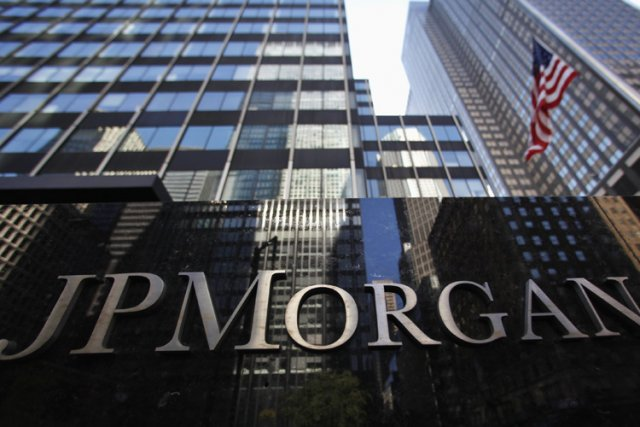La banque américaine JPMorgan Chase (JPM) a enregistré un... (Photo: Reuters)