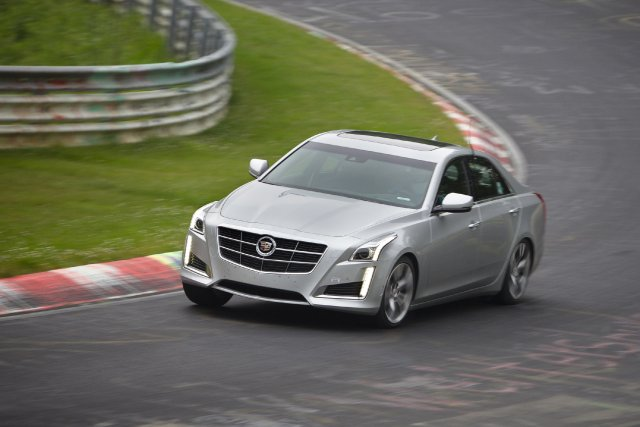 La Cadillac CTS de nouvelle génération.... (Photo fournie par Cadillac)