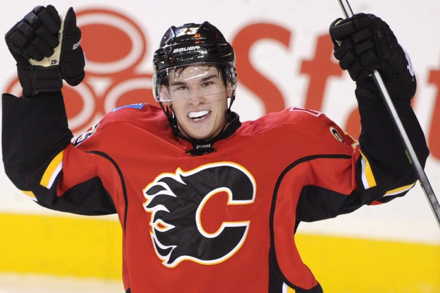 Sean Monahan... (Photo Larry MacDougal, archives PC)
