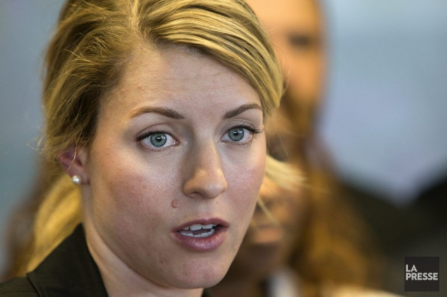 Mélanie Joly... (Photo Robert Skinner, archives La Presse)