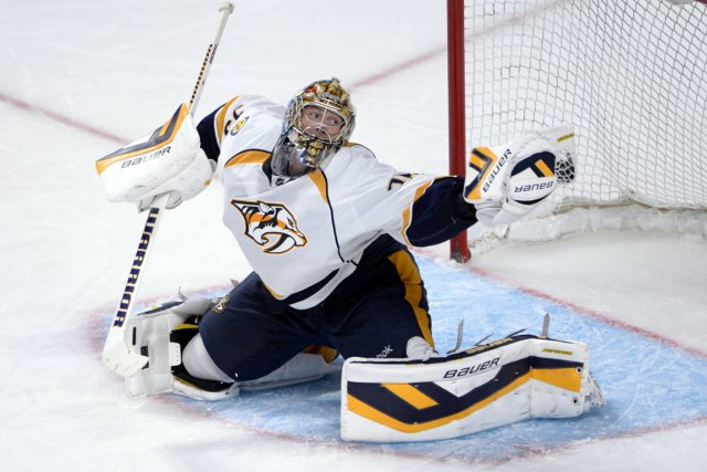 Pekka Rinne... (Photo Eric Bolte, USA Today)
