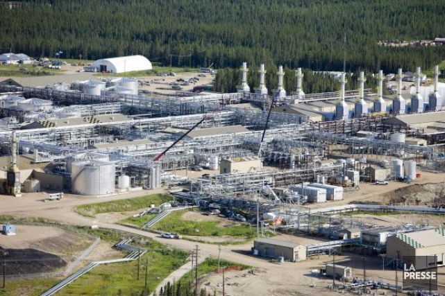 Des installations de Cenovus en Alberta.... (Photo archives La Presse Canadienne)