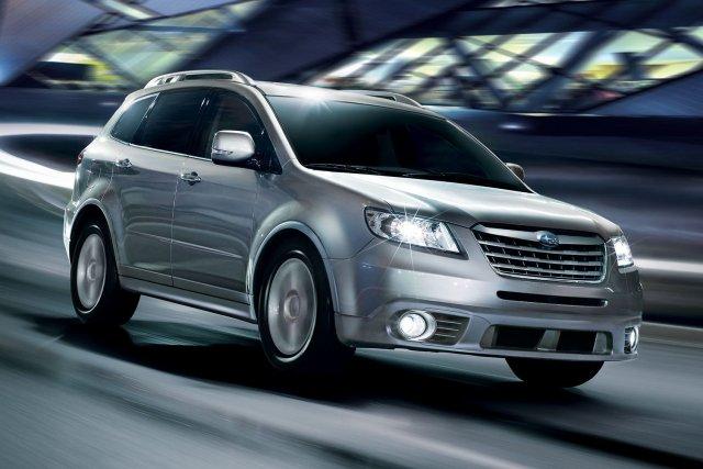 L'année-modèle 2014 sera la dernière pour le Tribeca,... (Photo fournie par Subaru)
