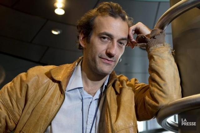Le comédien Martin Dubreuil incarne un Québécois sans... (Photo: Alain Roberge, archives La Presse)