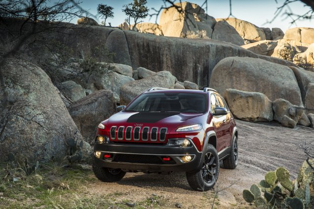 Le nouveau Jeep Cherokee.... (Photo fournie par Chrysler)