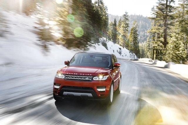 Le nouveau Range Rover Sport.... (Photo fournie par Land Rover)