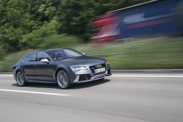 La nouvelle Audi RS7.... (Photo fournie par Audi)