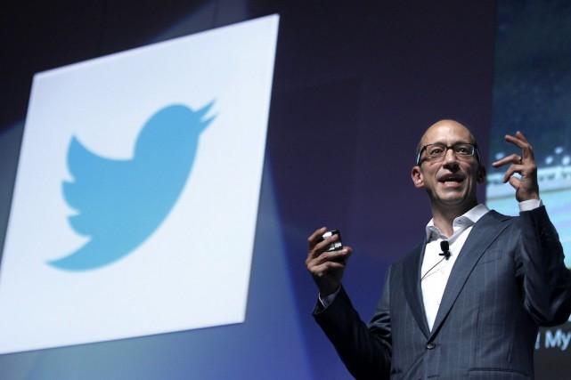 Le directeur général de Twitter, Dick Costolo, espère... (Photo Eric Gaillard, REUTERS)