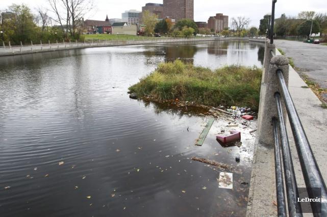 Avant même de penser à décontaminer le ruisseau... (Patrick Woodbury, Archives LeDroit)