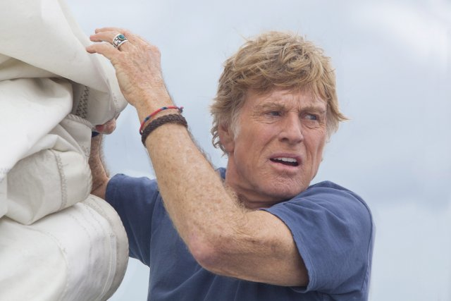 Robert Redford dans All is Lost. ... (Photo AP)
