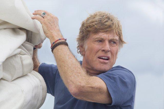 Robert Redford dans All is Lost.... (Photo AP)