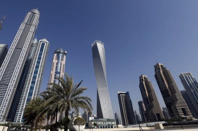 La cité État de Dubaï a accueilli en 2014 un total de 13,2 millions de... (PHOTO ARCHIVES AFP)