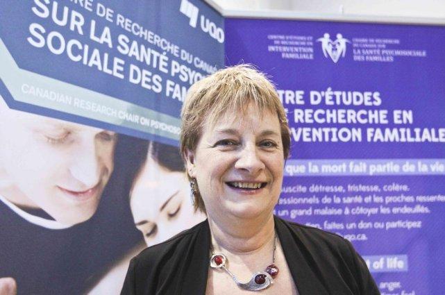 La professeur à l'UQO Francine de Montigny a... (Patrick Woodbury, LeDroit)