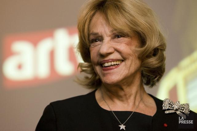 Jeanne Moreau... (Photo archives La Presse)