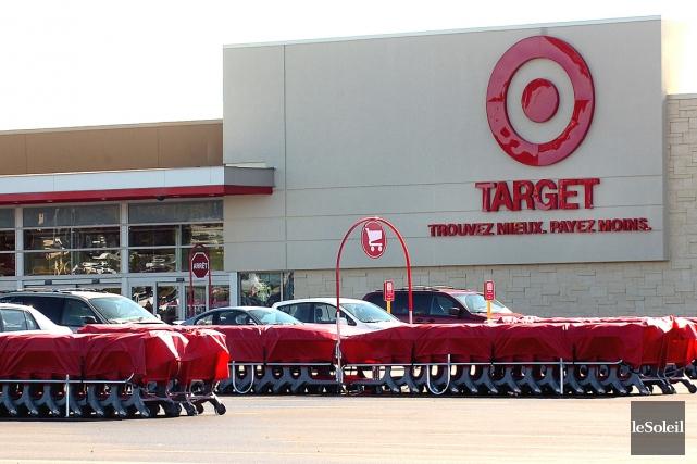 Le détaillant américain Target prévient ses clients canadiens qu'une faille... (Photo Le Soleil)