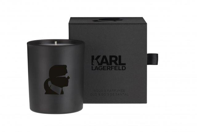 Premi re collection de bougies parfum es sign e karl lagerfeld d coration - Linge de maison karl lagerfeld ...