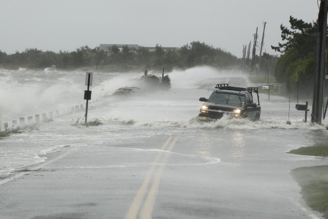 L'ouragan Sandy a frappé la côte est américaine,... (Photo Lucas Jackson, archives Reuters)