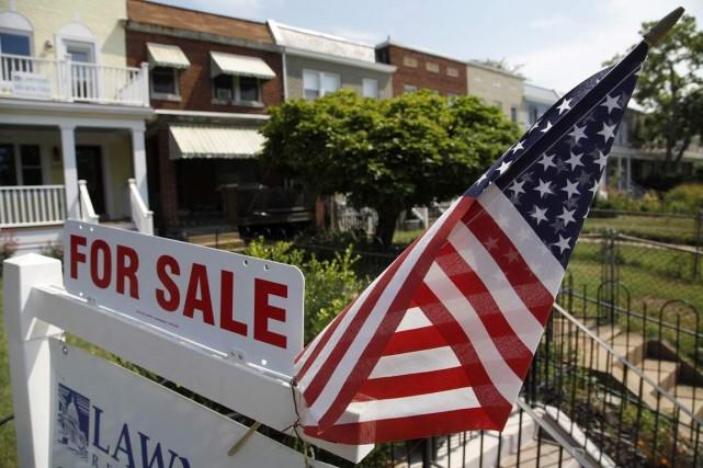 La National Association of Realtors a annoncé jeudi... (Photo Jonathan Ernst, Archives Reuters)