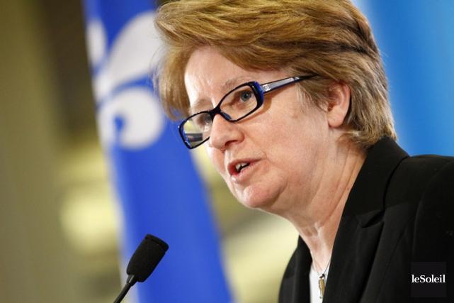 La ministre de l'Emploi et de la Solidarité... (Photothèque Le Soleil)