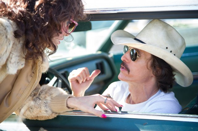 Jared Leto et Matthew McConaughey dans Dallas Buyers... (Photo: fournie par la production)