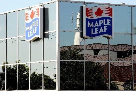 Aliments Maple Leaf (T.MFI)impute aux «énormes coûts» liés à... (Photo La Presse Canadienne)